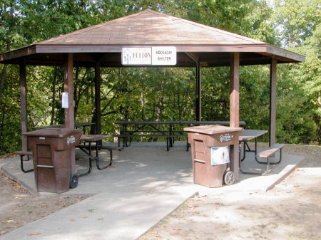 Hockaday Shelter at Memorial Park