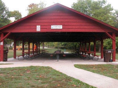Humphrey Shelter at Veterans Park