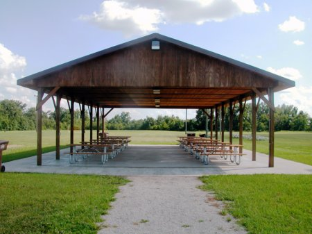 Shelter at Morgan Soccer Complex